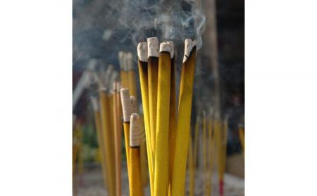 Set 56 Betisoare Parfumate cu 4 Arome Diferite pentru Aromaterapy si Relaxare, Iasomie, Vanilie si Miere, Santal, Lavanda, Original Deals® [6]