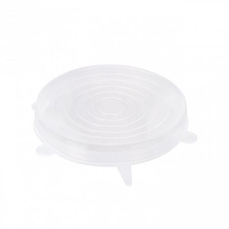 Set 3 Capace din Silicon Flexibile pentru Oale, Cratite, Caserole si Alimente, 6 cm, 12cm, 16cm, Premium [9]