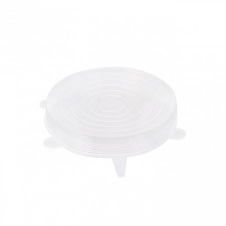 Set 3 Capace din Silicon Flexibile pentru Oale, Cratite, Caserole si Alimente, 6 cm, 12cm, 16cm, Premium [10]