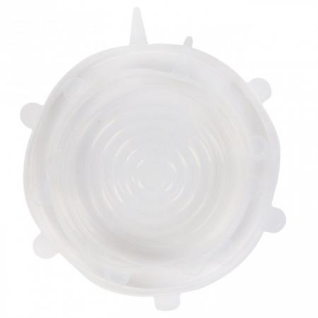 Set 3 Capace din Silicon Flexibile pentru Oale, Cratite, Caserole si Alimente, 6 cm, 12cm, 16cm, Premium [11]