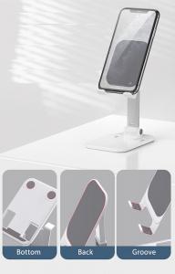 Suport Premium pentru Telefon Smartphone sau Tableta pentru Masa sau Birou - Portabil Pliabil cu Reglaj Multiplu6