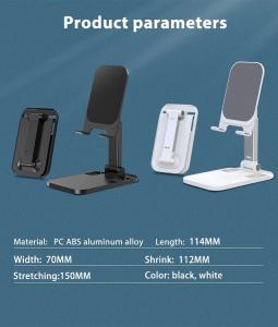 Suport Premium pentru Telefon Smartphone sau Tableta pentru Masa sau Birou - Portabil Pliabil cu Reglaj Multiplu8