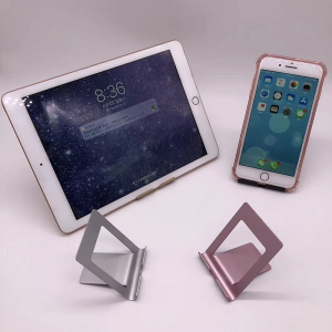 Suport Tableta Notepad si SmartPhone Telefon pentru Masa sau Birou Desktop - Premium Negru [0]