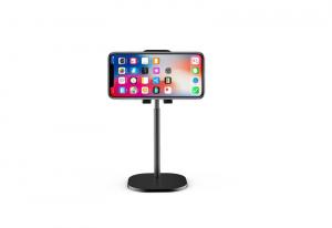 Suport Premium Metalic pentru Tableta sau Telefon cu Inaltime si Unghi de Vizualizare Reglabil - Negru6