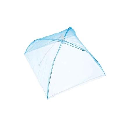 Umbrela de Protectie Impotriva Insectelor, Furnicilor si Gandacilor pentru Farfurii, Caselore si Alimente, Alb, 31cm x 31cm [6]