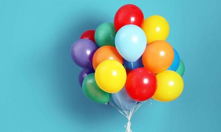 Set 25 de Baloane Multicolore, 30cm, cu Pompa Manuala, Pentru Petreceri [6]