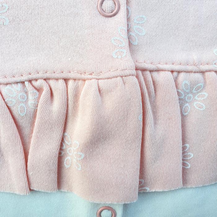 Salopeta bebe fetita roz pal 1