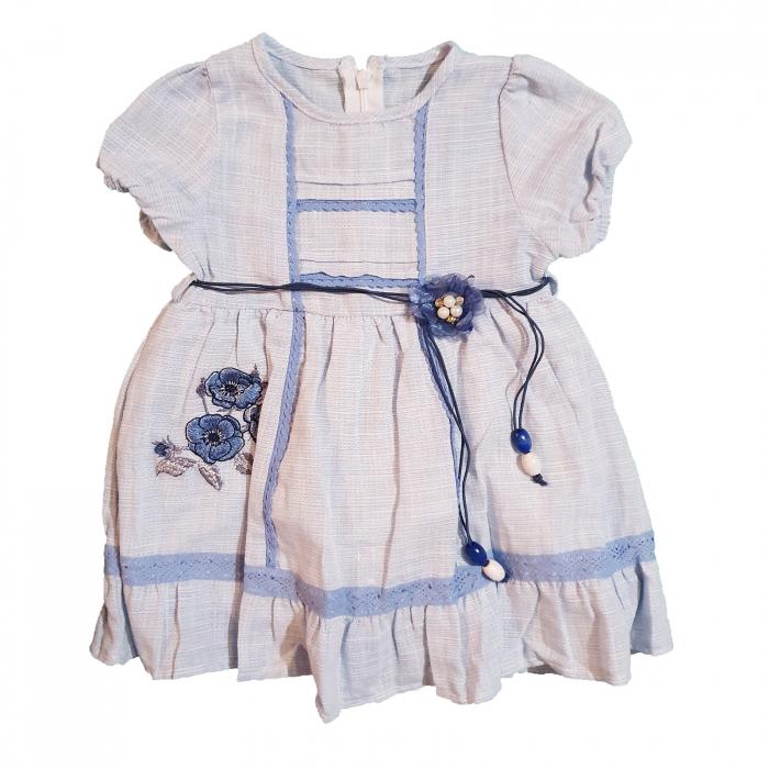 Rochita bebelusi etno bleu 6-24 luni [0]