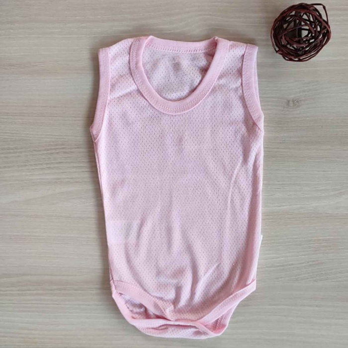 Body bebelusi maiou roz bumbac 0-9 luni [0]