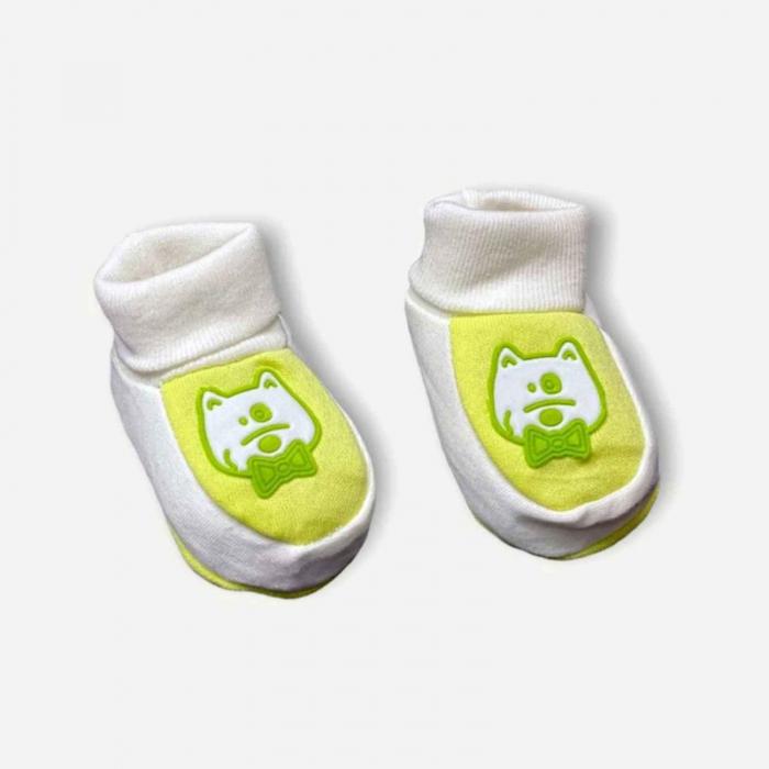 Botosei bebelusi verzi pisicuta bumbac 0-3 luni 0