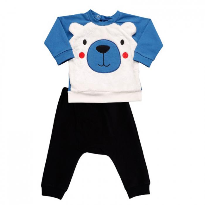 Compleu cap de urs polar albastru 0