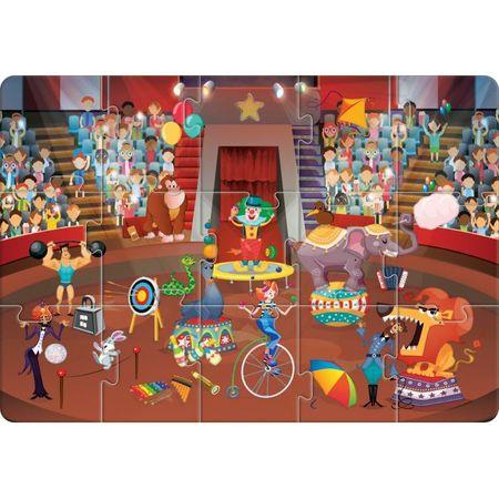 Puzzle Educativ Alfabetul la circ,30 piese 2