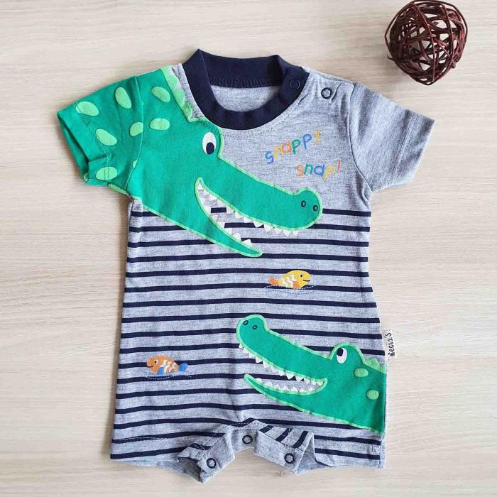 Salopeta bebelusi crocodili bumbac 0-9 luni [0]