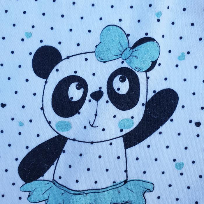 Compleu fetita cu vesta panda 2