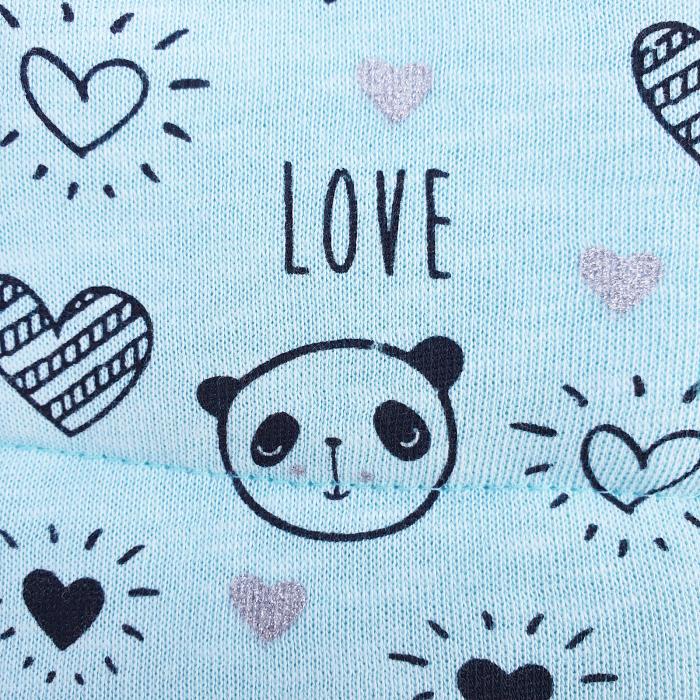Compleu fetita cu vesta panda 1