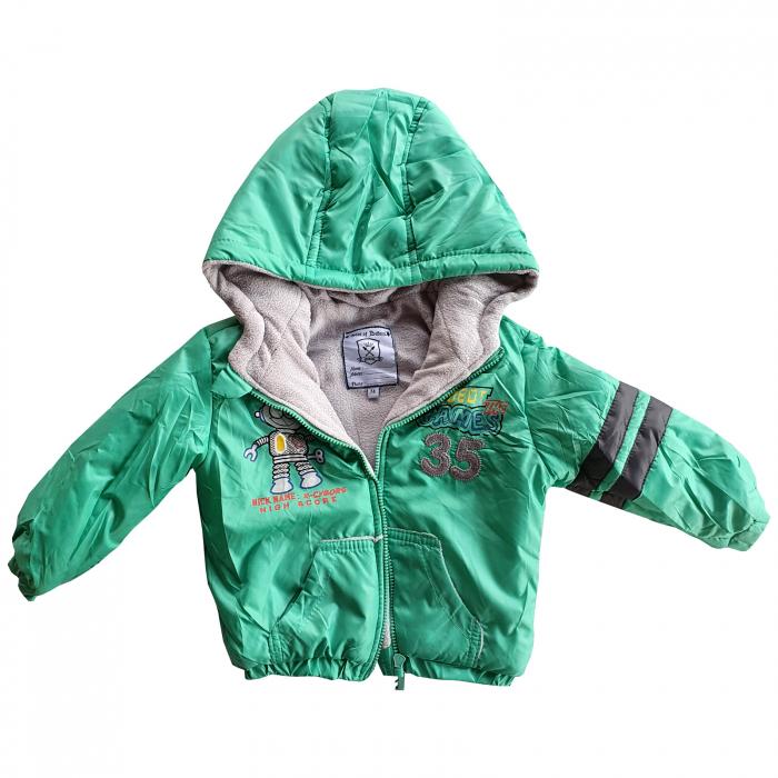 Geaca verde bebe 0