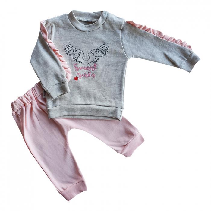 Trening aripi roz pudra 0