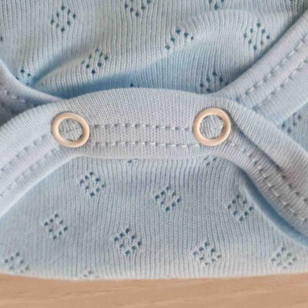 Body bebelusi maiou albastru bumbac 0-9 luni [2]