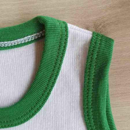 Body bebelusi maiou broscuta verde bumbac 0-24 luni [1]