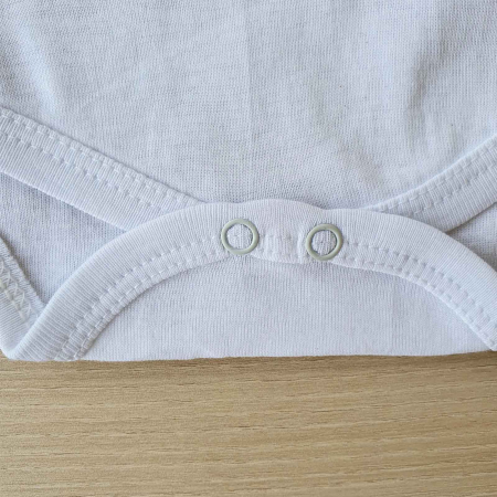 Body bebelusi maneca lunga capsuni alb bumbac 0-12 luni2