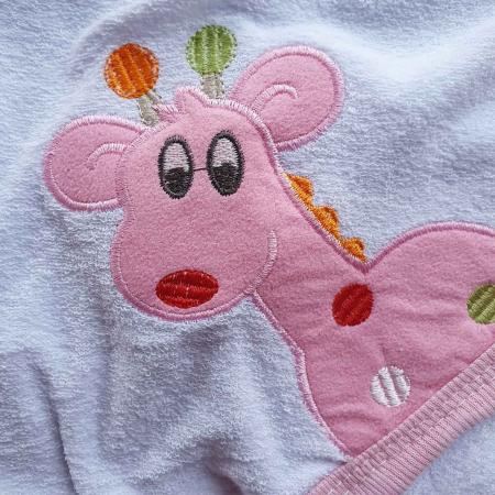 Prosop de baie girafa roz [1]
