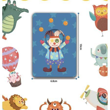 Joc educativ bebe Asociaza Cardurile - Primul meu circ3