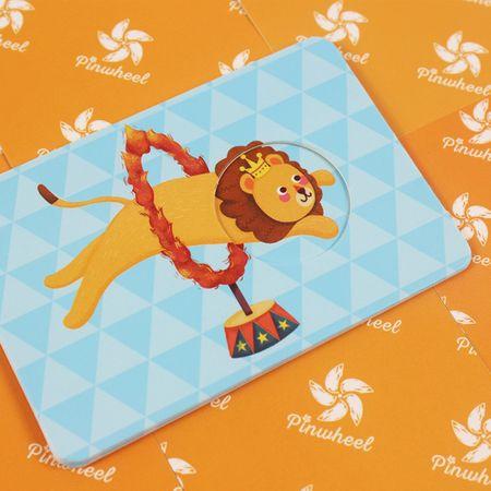 Joc educativ bebe Asociaza Cardurile - Primul meu circ1