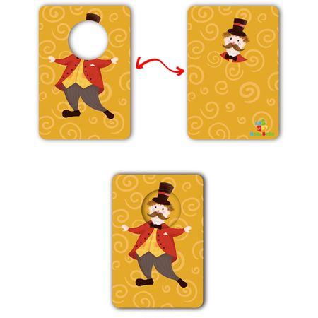 Joc educativ bebe Asociaza Cardurile - Primul meu circ5