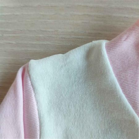Salopeta bebelusi maneca lunga fructe roz bumbac 0-3 luni [1]
