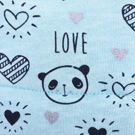 Compleu fetita cu vesta panda1