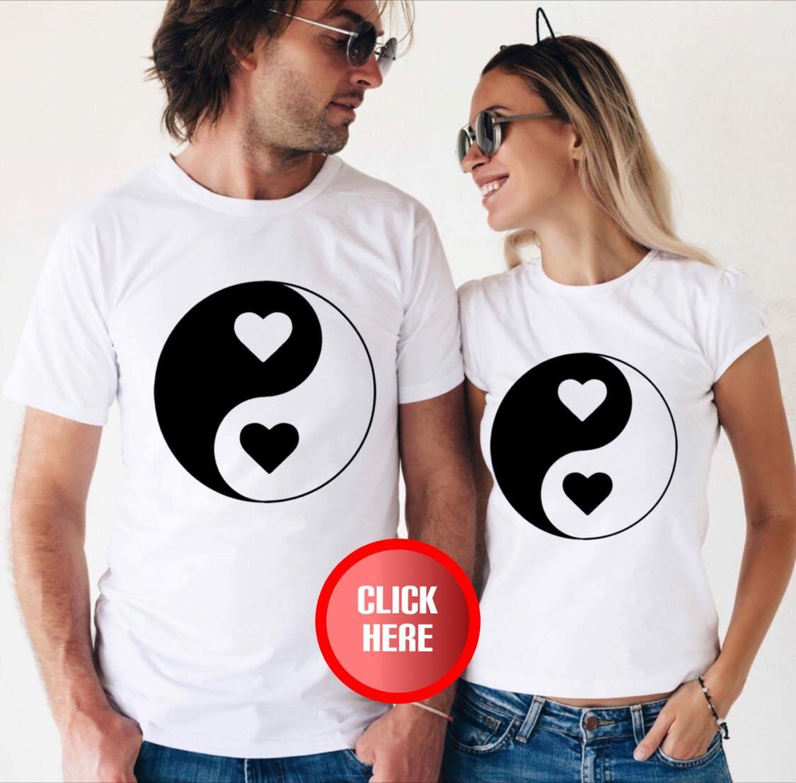 Set tricouri cuplu