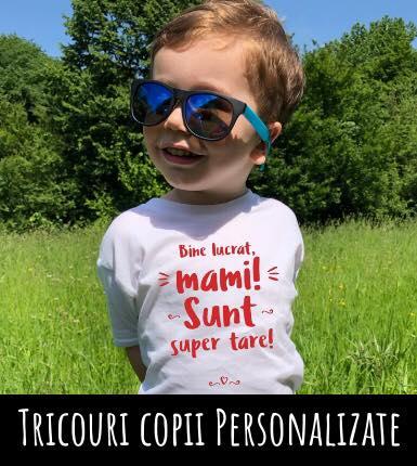 Tricouri copii personalizate