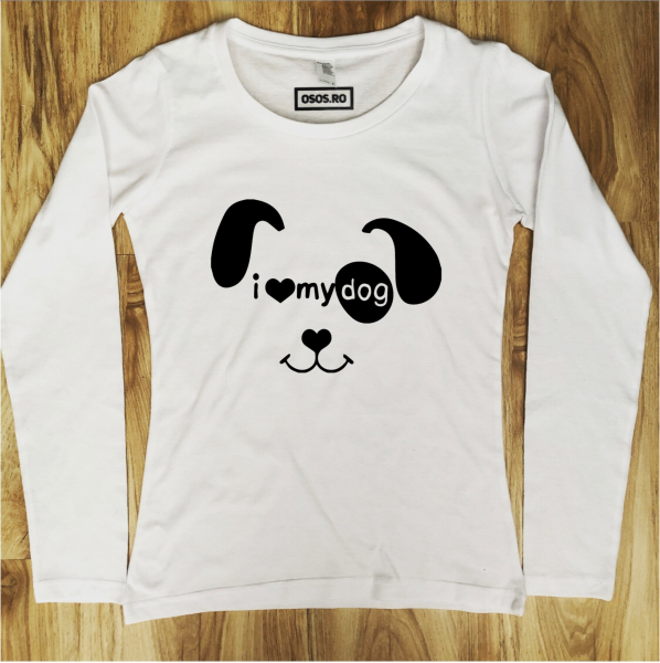 Bluza dama - I love my dog 0