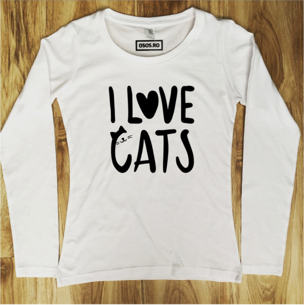 Bluza dama - I love cats [0]