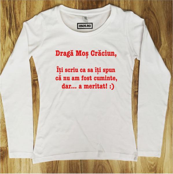 Bluza dama - Draga Mos Craciun... [0]