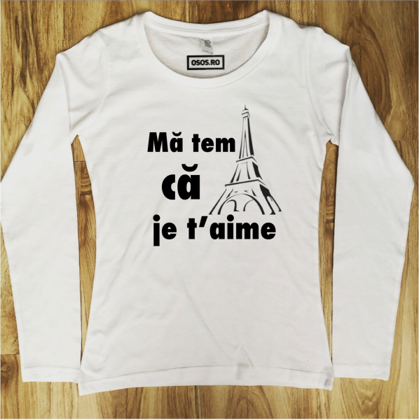 Bluza dama - Ma tem ca je t'aime [0]