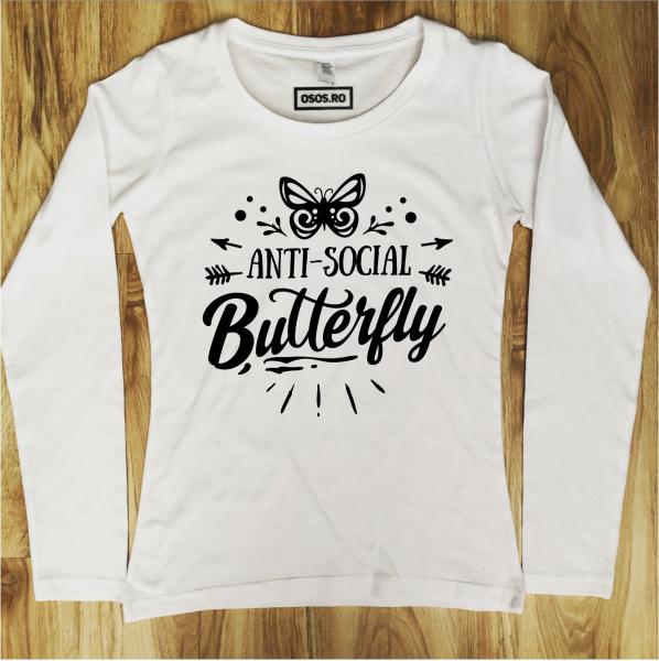 Bluza dama - Anti-Social butterfly [0]