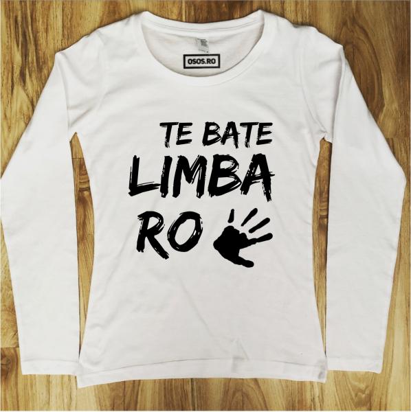 Bluza dama - Te Bate Limba Romana [0]