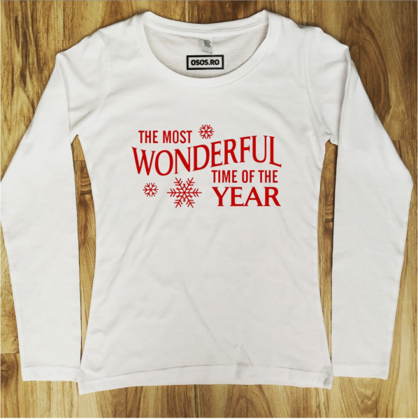 Bluza dama - The most wonderful time of the ear 0