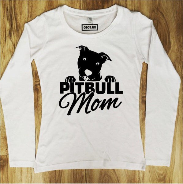 Bluza dama - Pitbull Mom 0