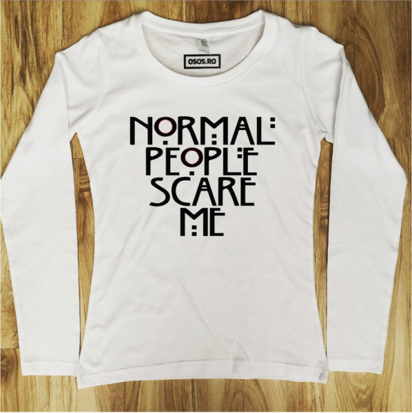 Bluza dama - Normal people care me [0]