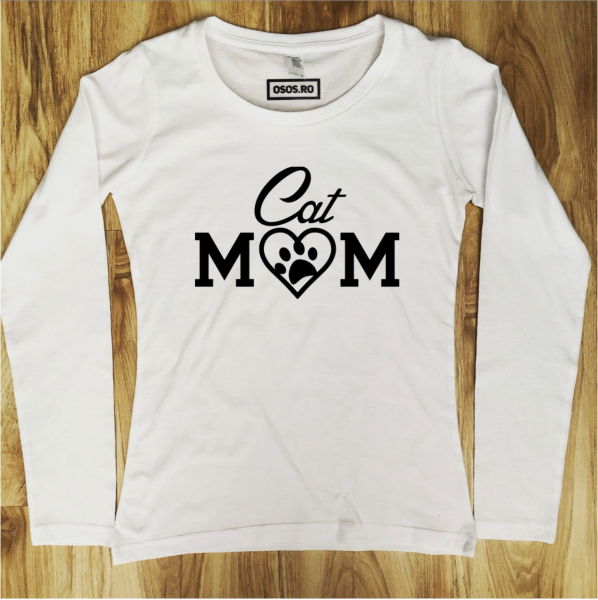 Bluza dama - Cat mom [0]