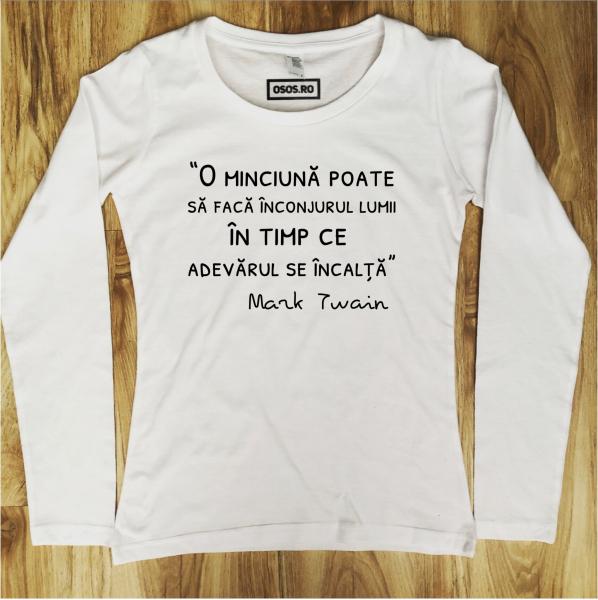 Bluza dama - O minciuna poate [0]
