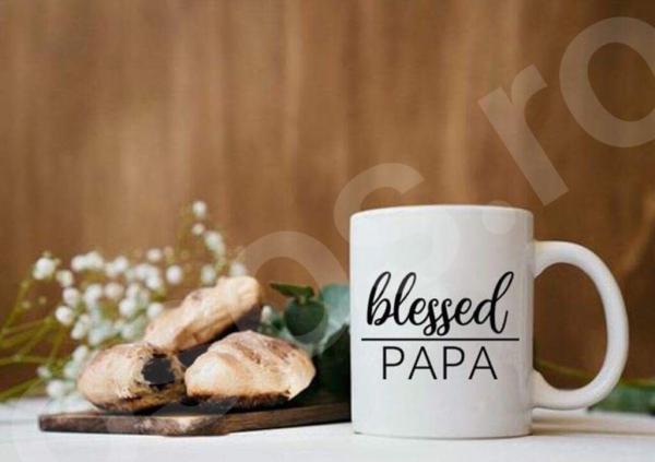Cană personalizată - Blessed toate rudele 0