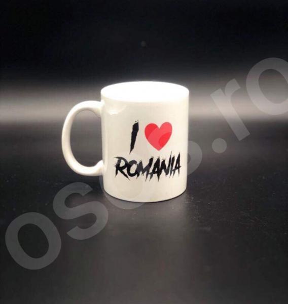 Cană personalizată - I love România 0