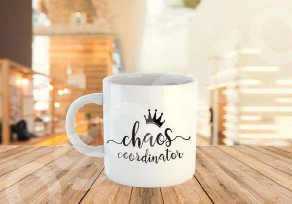 Cană personalizată - Chaos coordiator