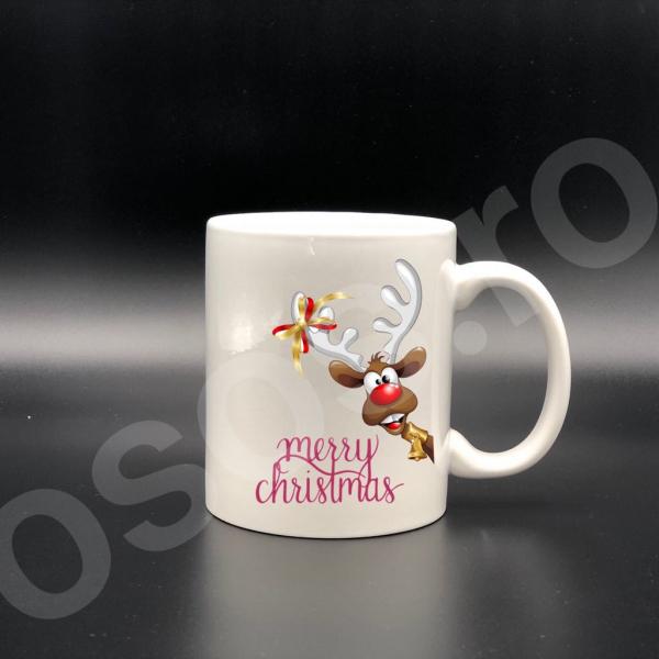 Cană personalizată - Merry Christmas :) 0