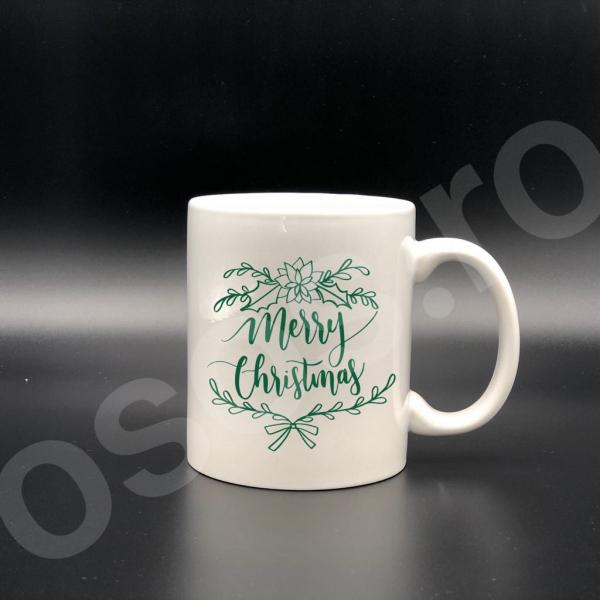 Cană personalizată - Merry Christmas! 0