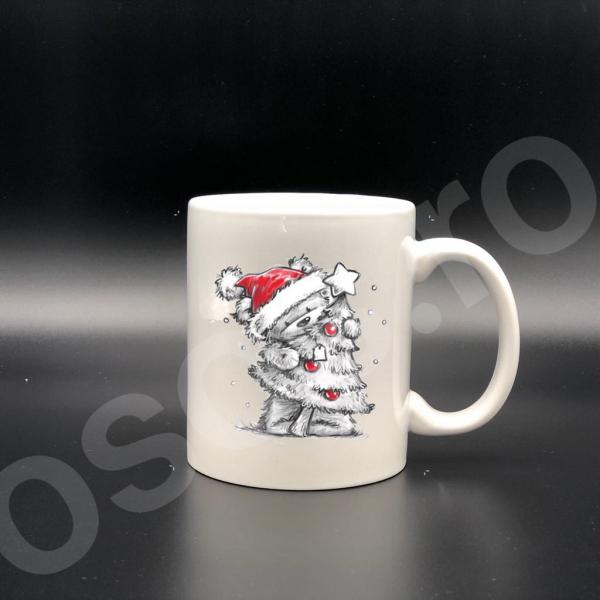 Cană personalizată - De Crăciun 0