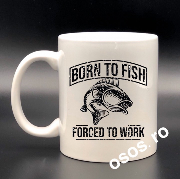 Cana pescar - Born to fish, forced to work 0